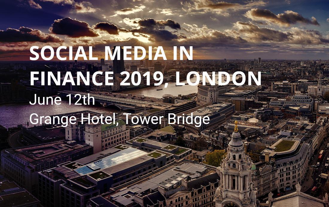 Social Media In Finance 2019 London